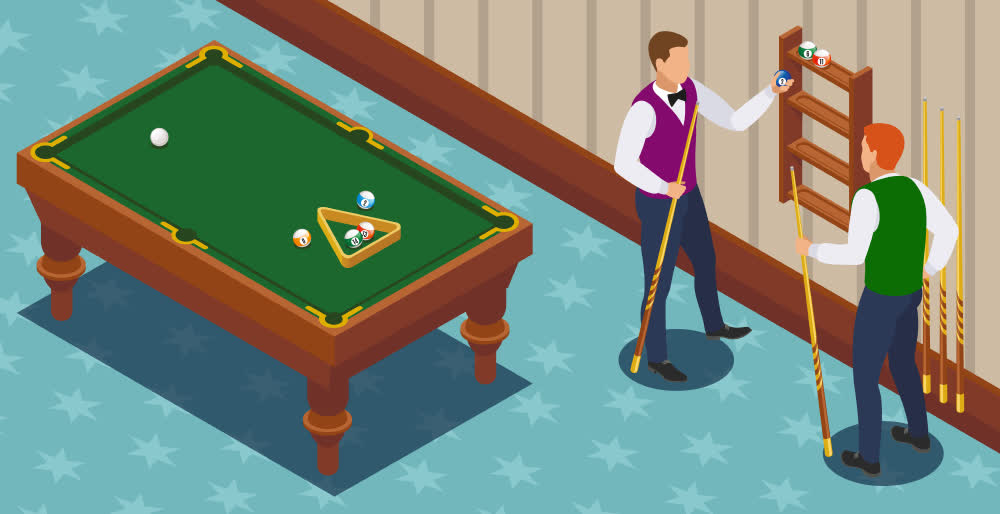 Billiards as a hobby