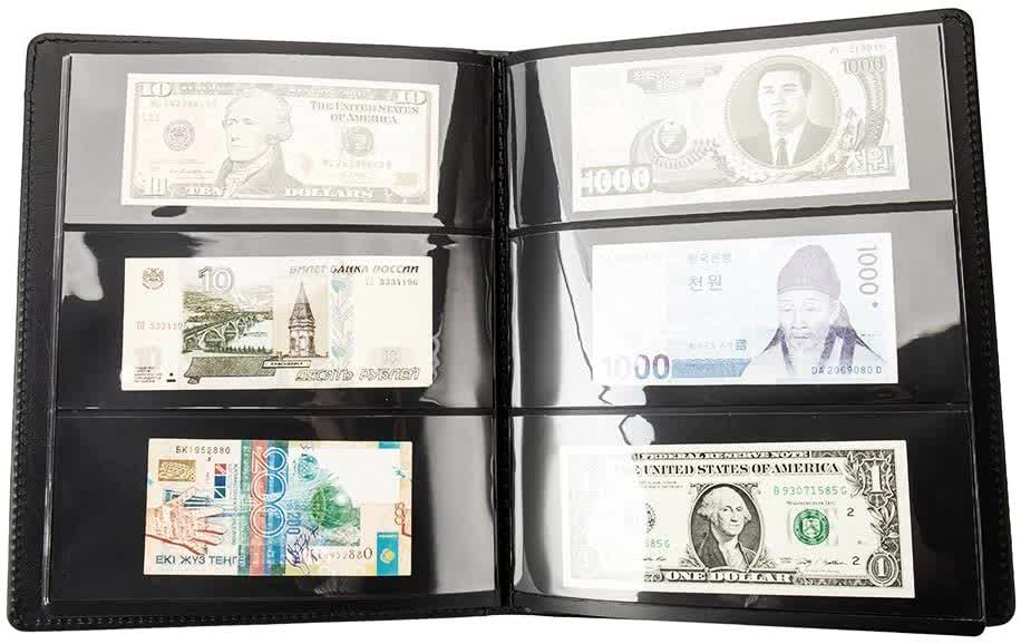 Banknotes Collection Currency Album